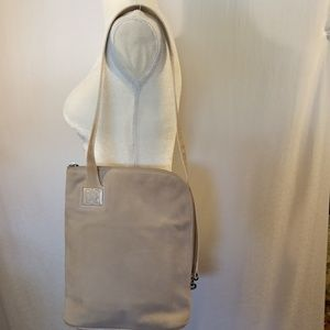 ESCADA Tan Suede Leather Purse